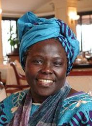 Prof. Wangari Muta Maathai - Founder & 1st Distinguished Chair