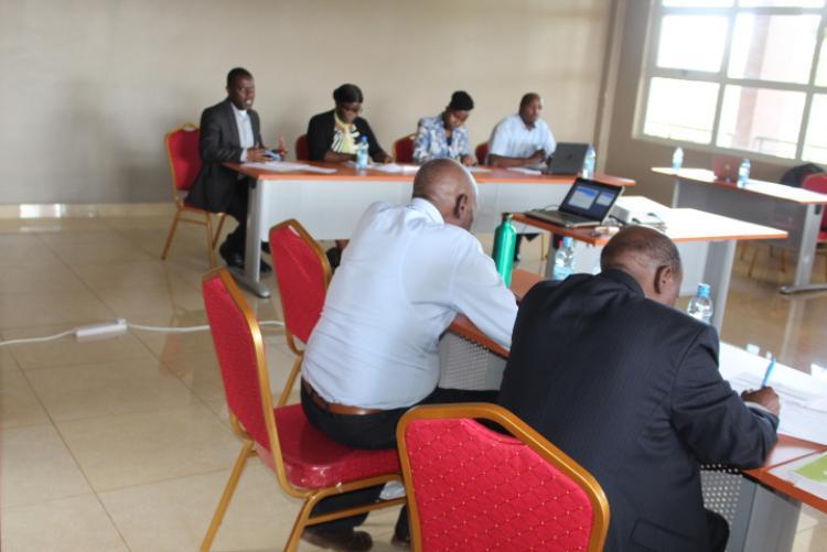Curriculum Review Workshop held at the Wangari Maathai Institute in November 2019