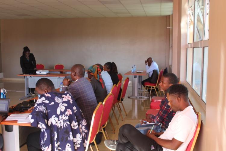 Curriculum Review Workshop held at the Wangari Maathai Institute in November 2019Curriculum Review Workshop held at the Wangari Maathai Institute in November 2019