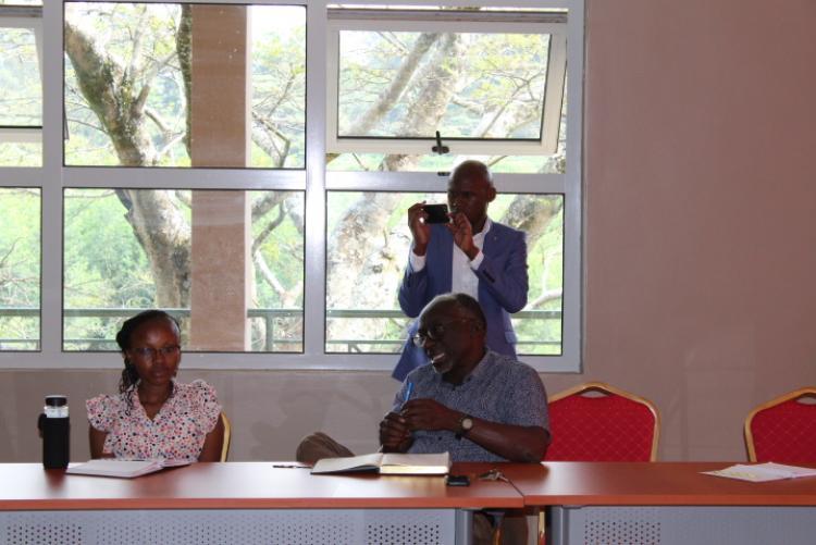 Seminar on Australian fires held at the Wangari Maathai Institute