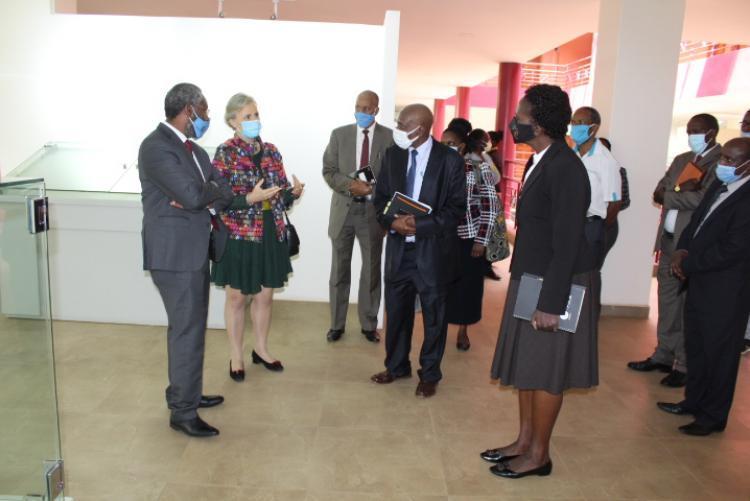 Wangari Maathai Institute for Peace and Environmental Studies - VCs visit